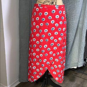 J.Crew Floral Skirt - Medium